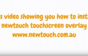 Touchscreen overlay installation