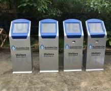 Australian Gas touchscreen kiosk