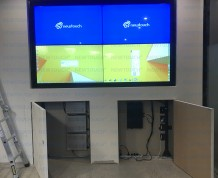 WLanding Video Wall finishing