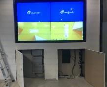 WLanding Video Wall finishing