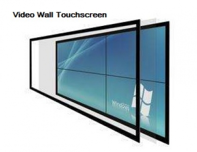 Video Wall Touchscreen Overlay